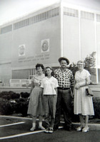 Agnes, Connie, Floyd, Blanche (Floyd's Wife & Daughter)